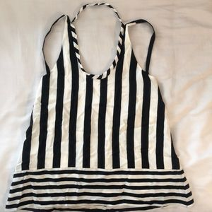 New* BCBG Stripped Summer Blouse